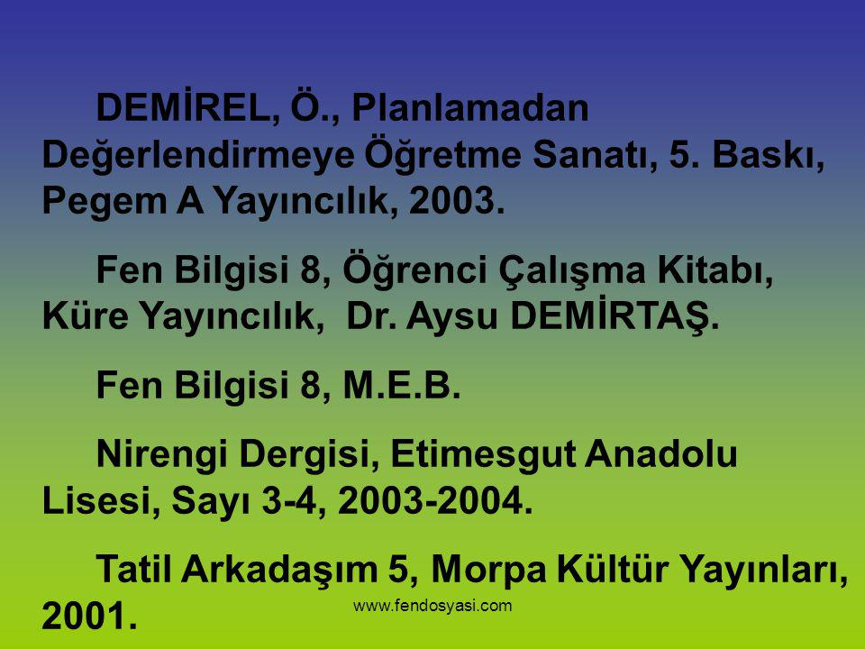 Nirengi Dergisi, Etimesgut Anadolu Lisesi, Sayı 3-4, 2003-2004.