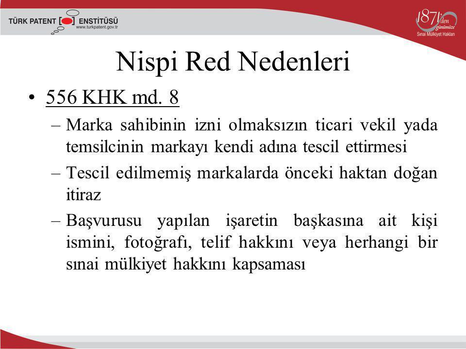 Nispi Red Nedenleri 556 KHK md. 8