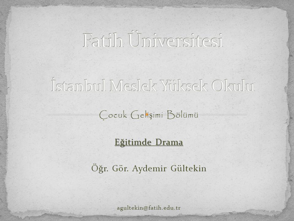 Fatih Üniversitesi İstanbul Meslek Yüksek Okulu