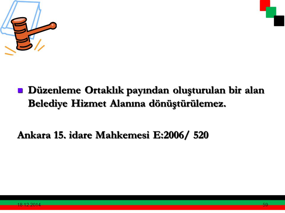Ankara 15. idare Mahkemesi E:2006/ 520