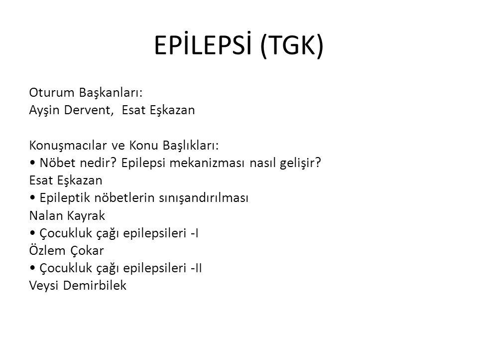 EPİLEPSİ (TGK)