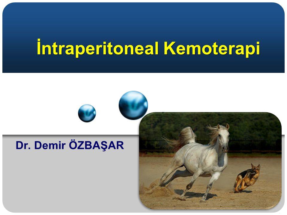 İntraperitoneal Kemoterapi