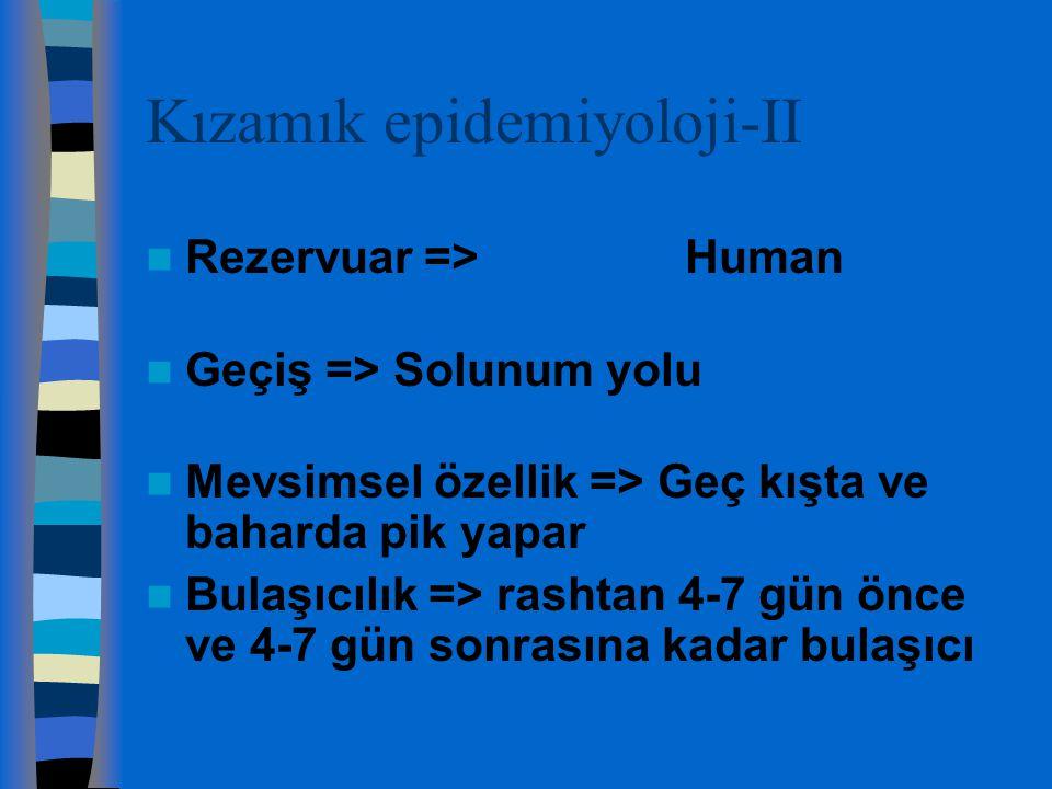 Kızamık epidemiyoloji-II