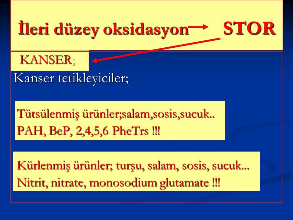 İleri düzey oksidasyon STOR