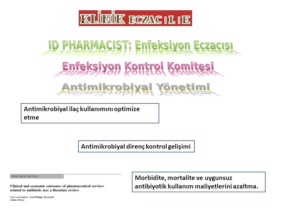 Antimikrobiyal ilaç kullanımını optimize etme