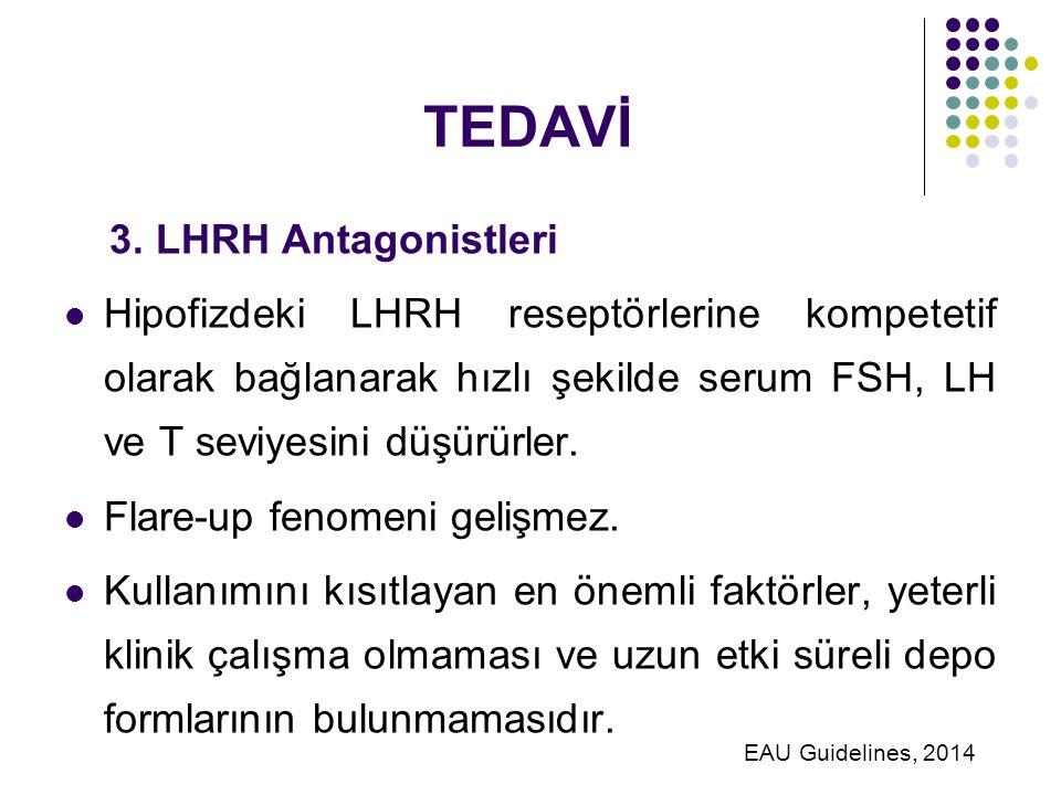 TEDAVİ 3. LHRH Antagonistleri