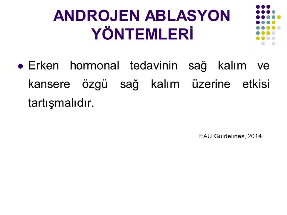 ANDROJEN ABLASYON YÖNTEMLERİ