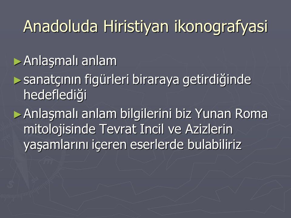 Anadoluda Hiristiyan ikonografyasi