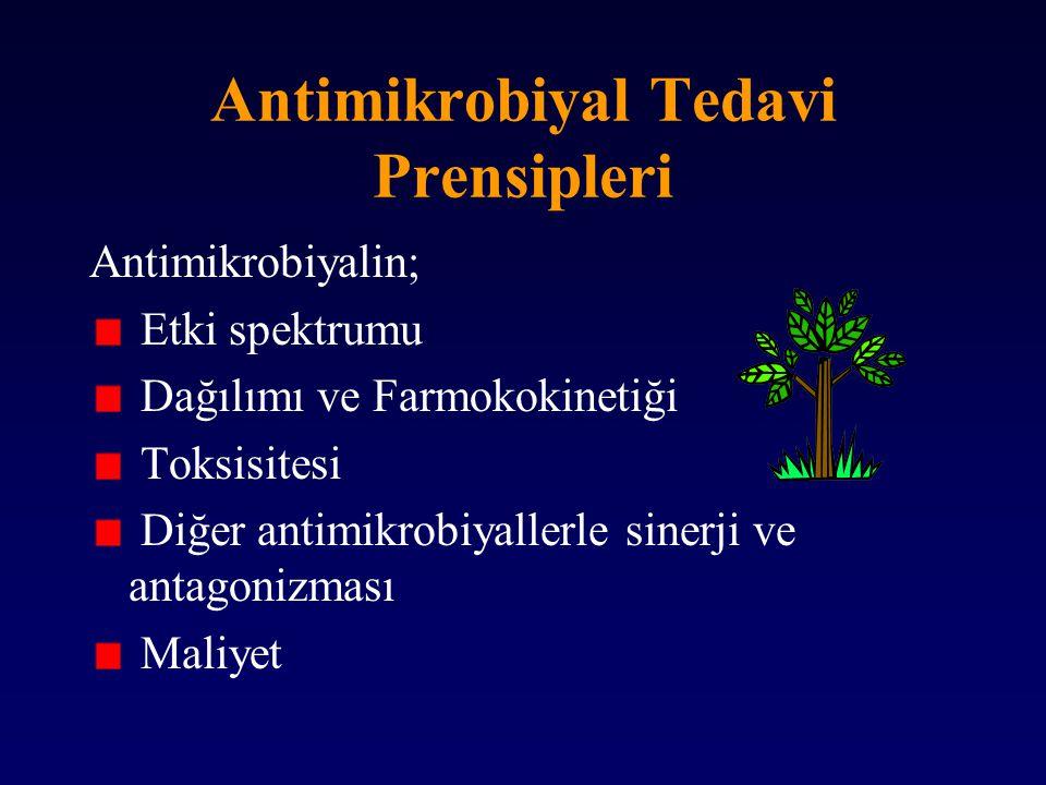 Antimikrobiyal Tedavi Prensipleri
