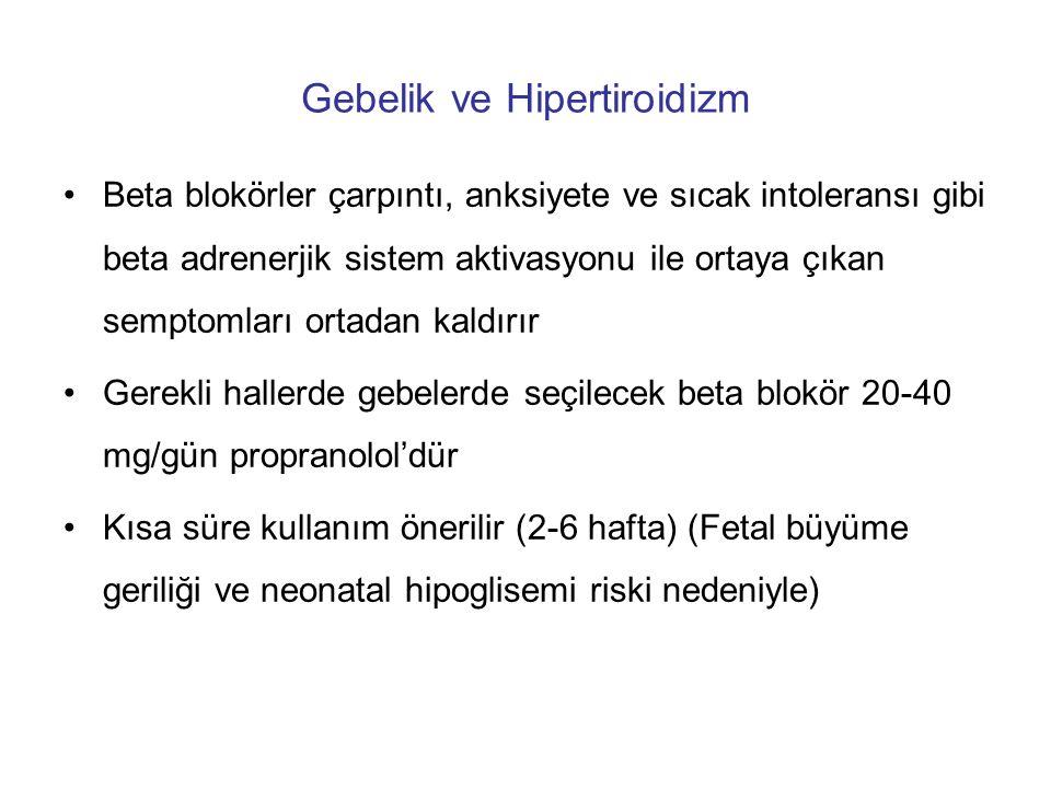 Gebelik ve Hipertiroidizm