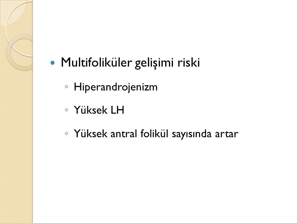 Multifoliküler gelişimi riski