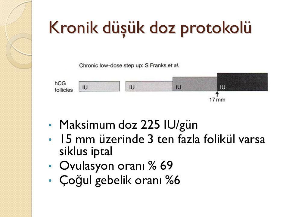 Kronik düşük doz protokolü