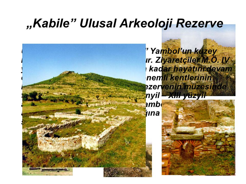 """Kabile Ulusal Arkeoloji Rezerve"