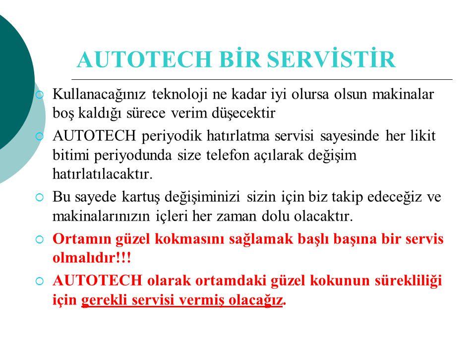 AUTOTECH BİR SERVİSTİR