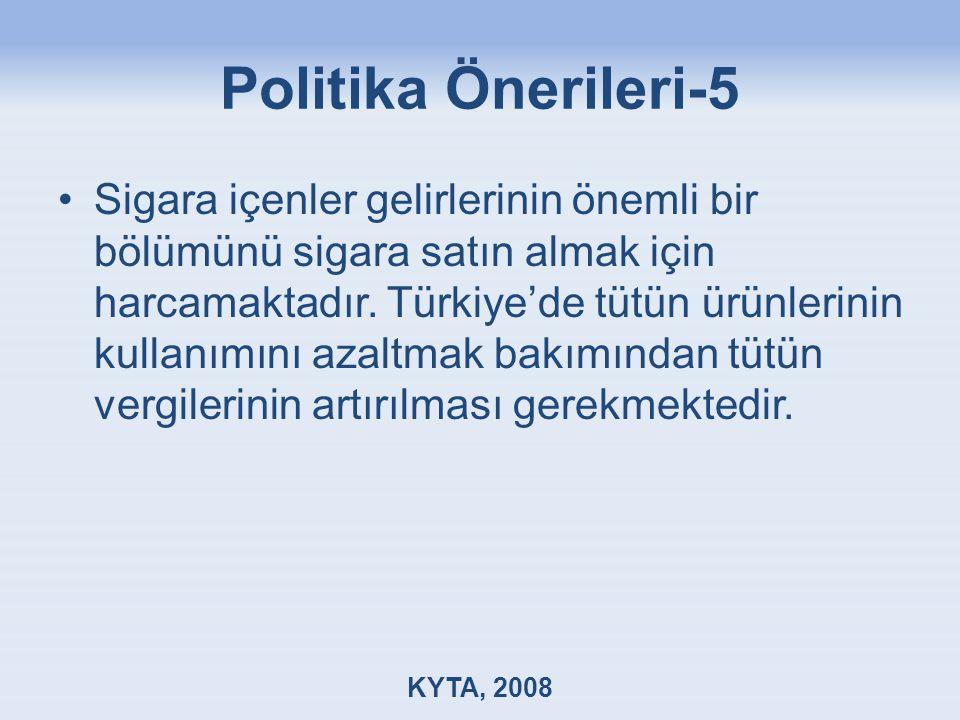 Politika Önerileri-5