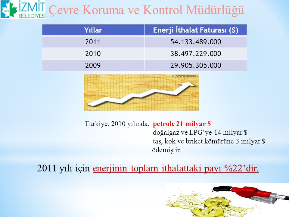Enerji İthalat Faturası ($)