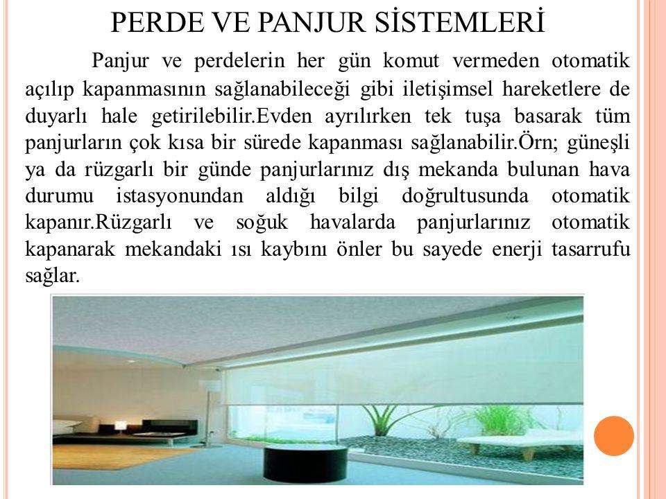 PERDE VE PANJUR SİSTEMLERİ