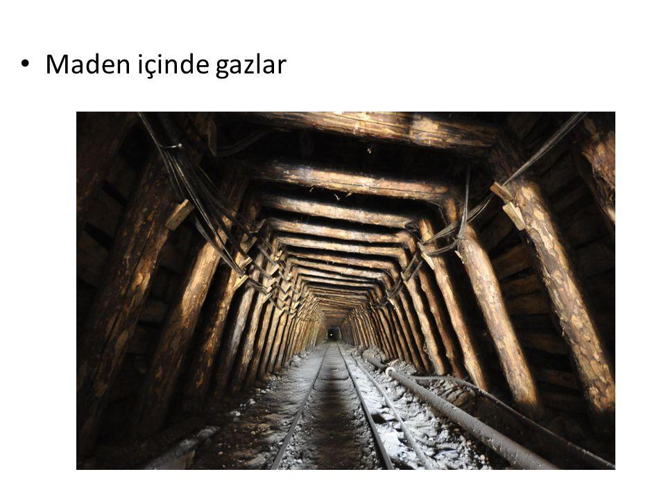 Maden içinde gazlar