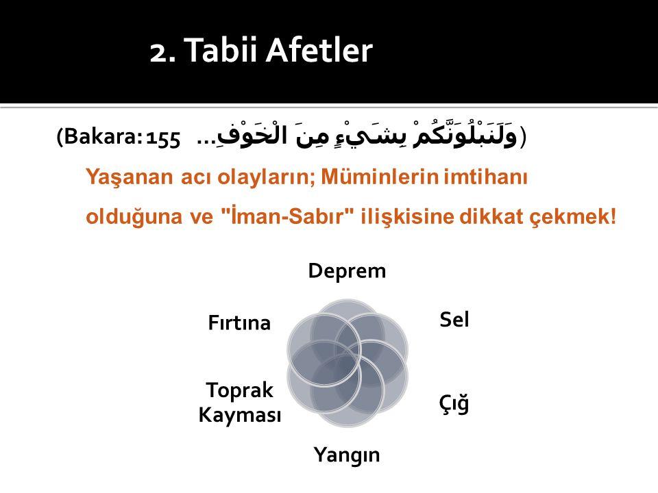) وَلَنَبْلُوَنَّكُمْ بِشَيْءٍ مِنَ الْخَوْفِ(Bakara: 155 …