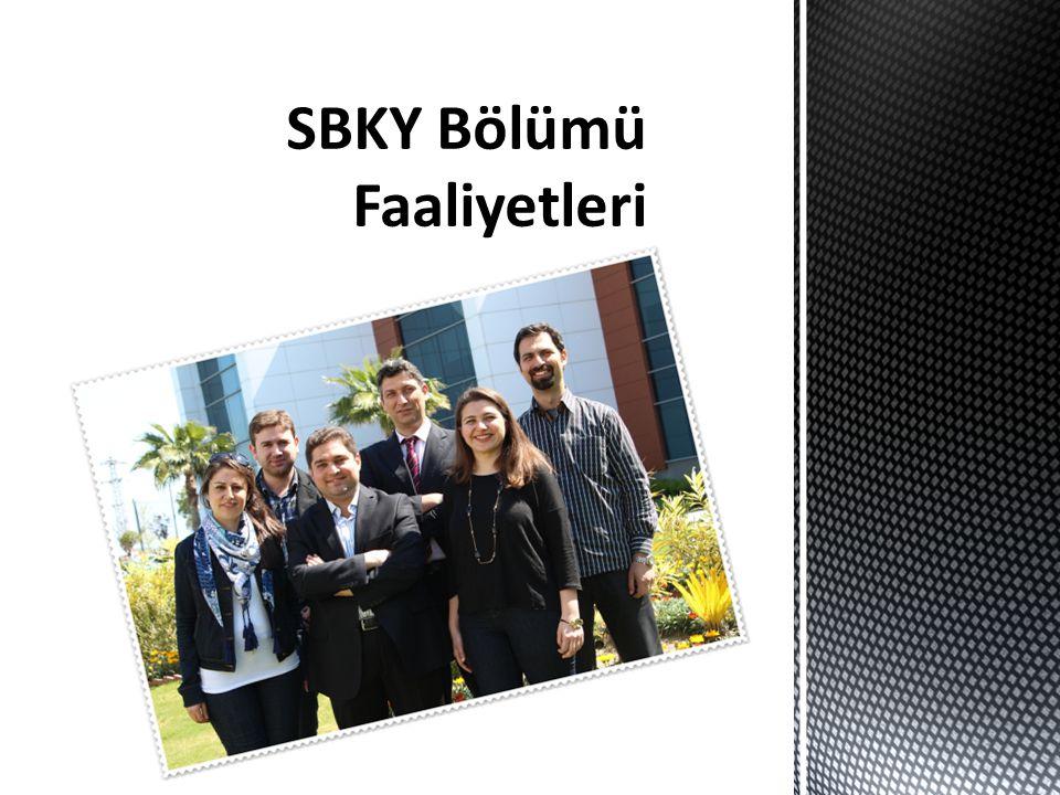 SBKY Bölümü Faaliyetleri