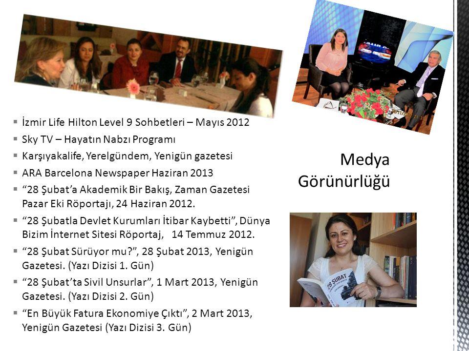 Medya Görünürlüğü İzmir Life Hilton Level 9 Sohbetleri – Mayıs 2012