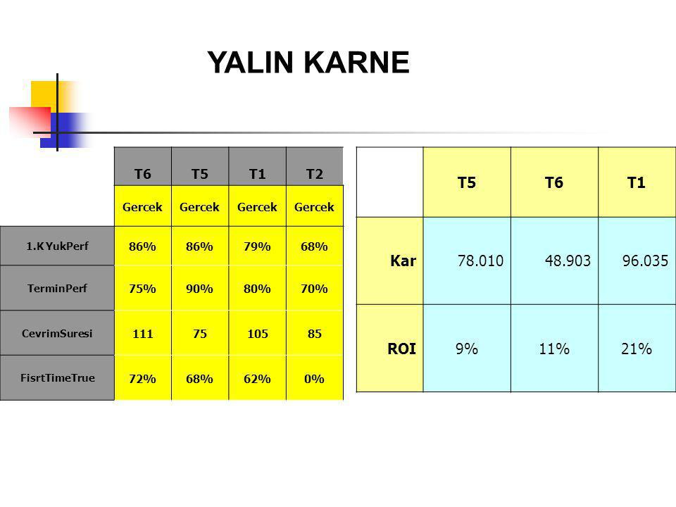 YALIN KARNE T5 T6 T1 Kar 78.010 48.903 96.035 ROI 9% 11% 21% T6 T5 T1