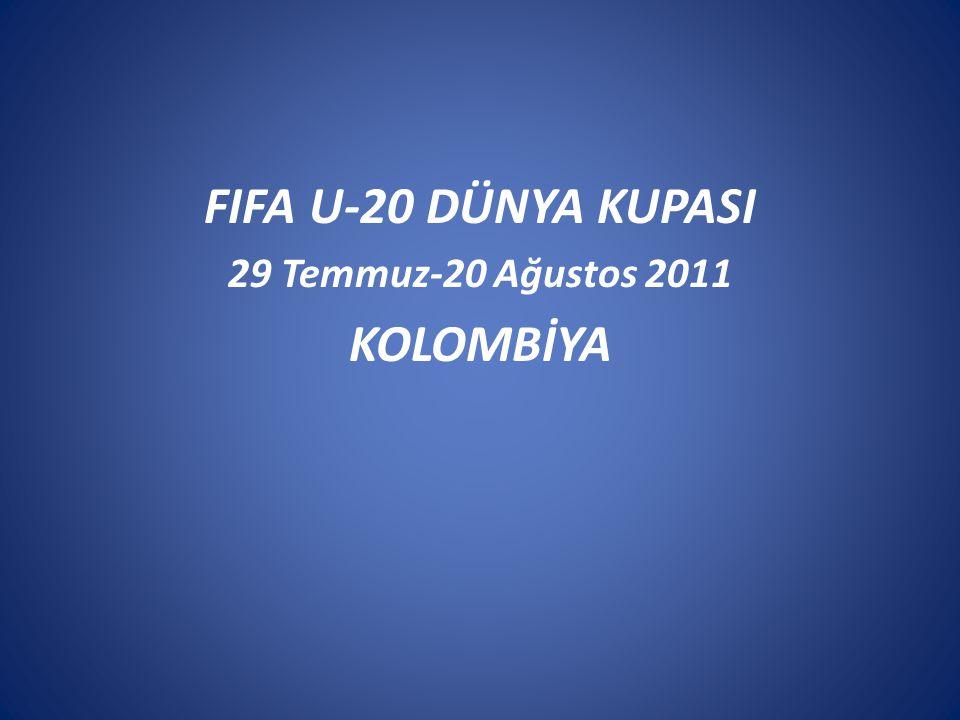 FIFA U-20 DÜNYA KUPASI KOLOMBİYA
