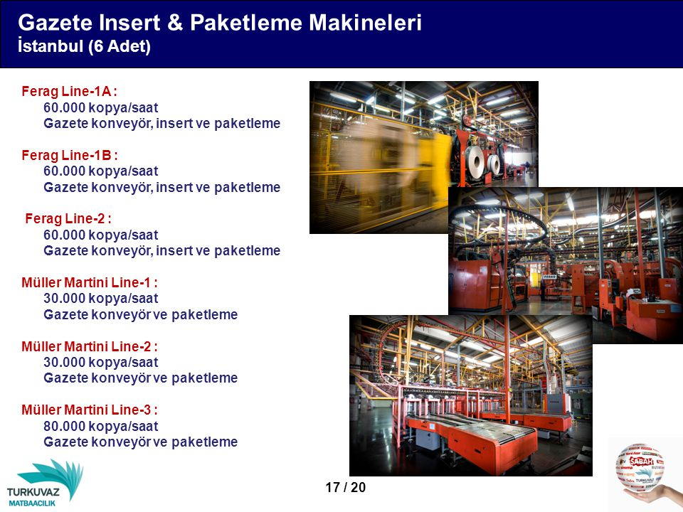 Gazete Insert & Paketleme Makineleri