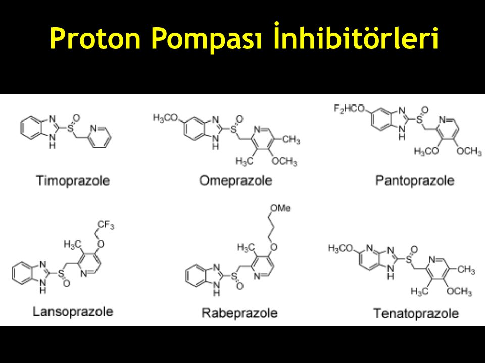 Proton Pompası İnhibitörleri