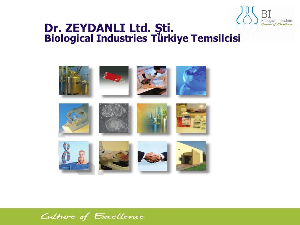 Dr. ZEYDANLI Ltd. Şti. Biological Industries Türkiye Temsilcisi
