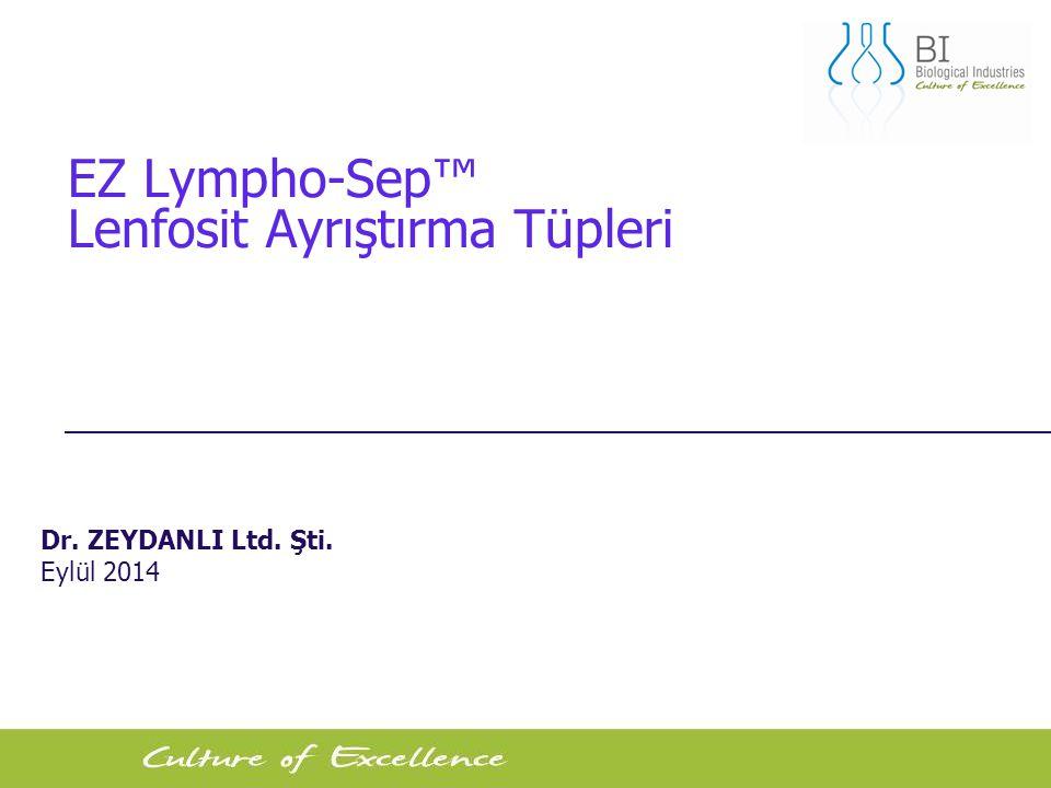 EZ Lympho-Sep™ Lenfosit Ayrıştırma Tüpleri