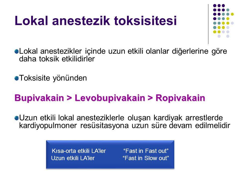 Lokal anestezik toksisitesi