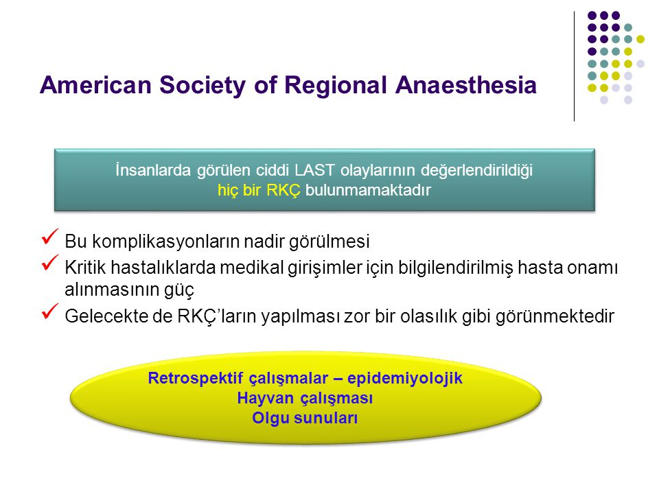 American Society of Regional Anaesthesia