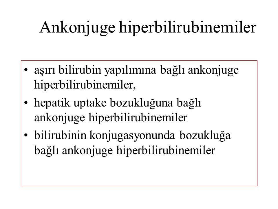 Ankonjuge hiperbilirubinemiler