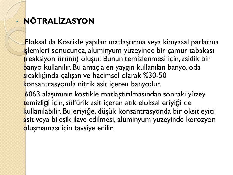 NÖTRALİZASYON