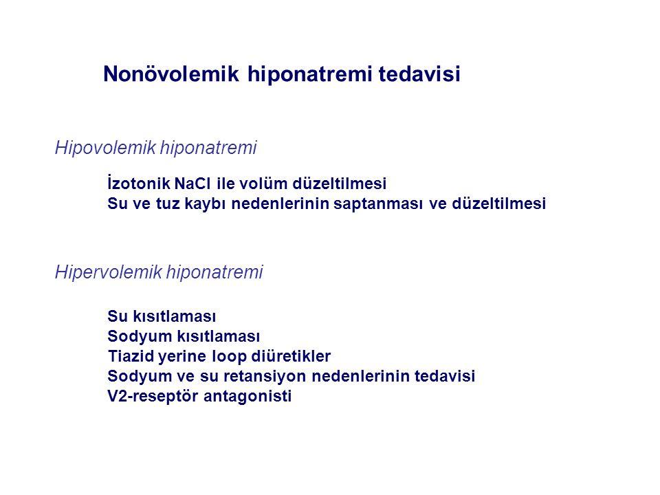 Nonövolemik hiponatremi tedavisi