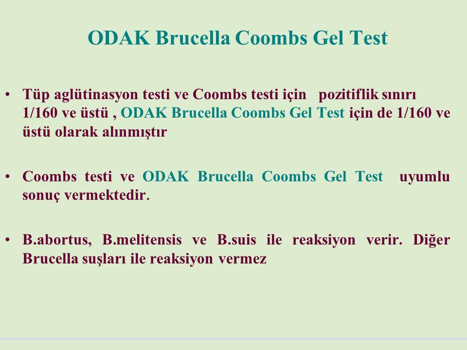 ODAK Brucella Coombs Gel Test