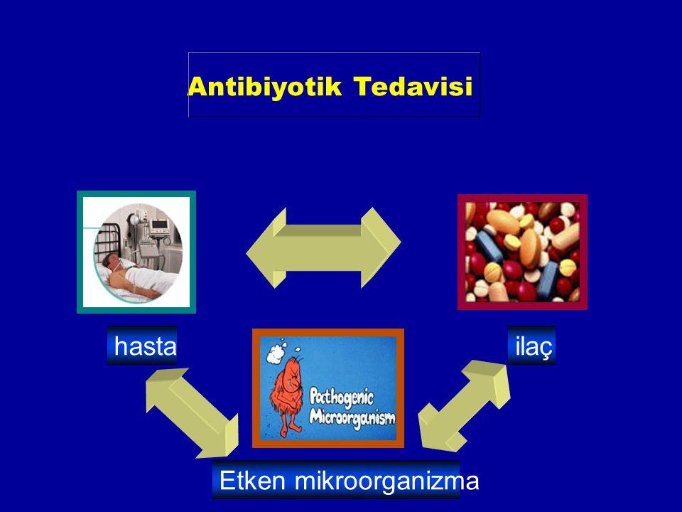 Antibiyotik Tedavisi hasta ilaç Etken mikroorganizma