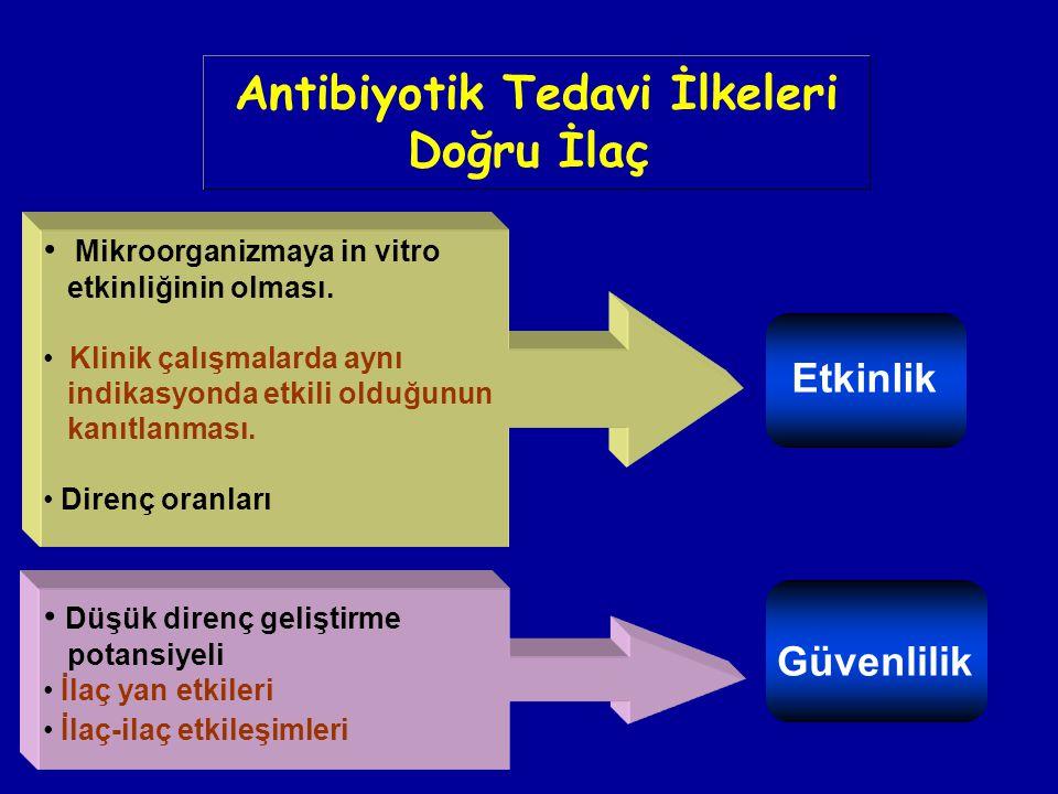 Antibiyotik Tedavi İlkeleri Doğru İlaç