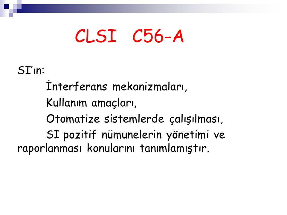 CLSI C56-A