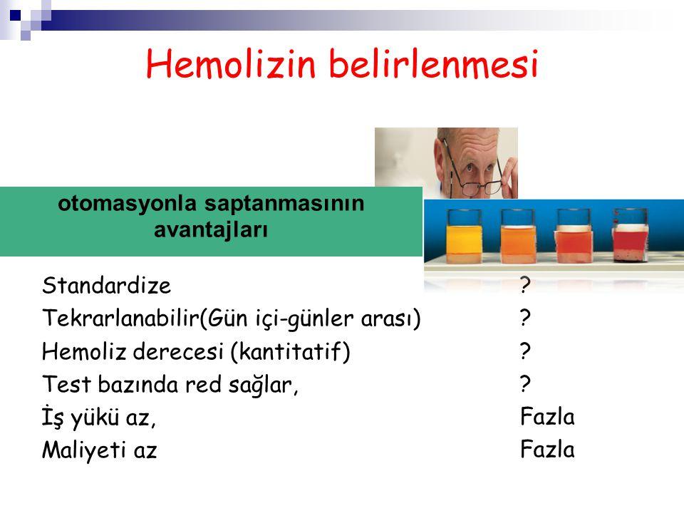 Hemolizin belirlenmesi