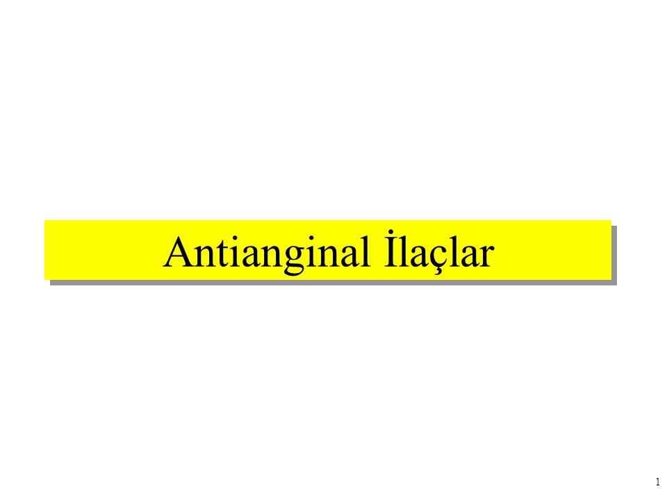 Antianginal İlaçlar 1
