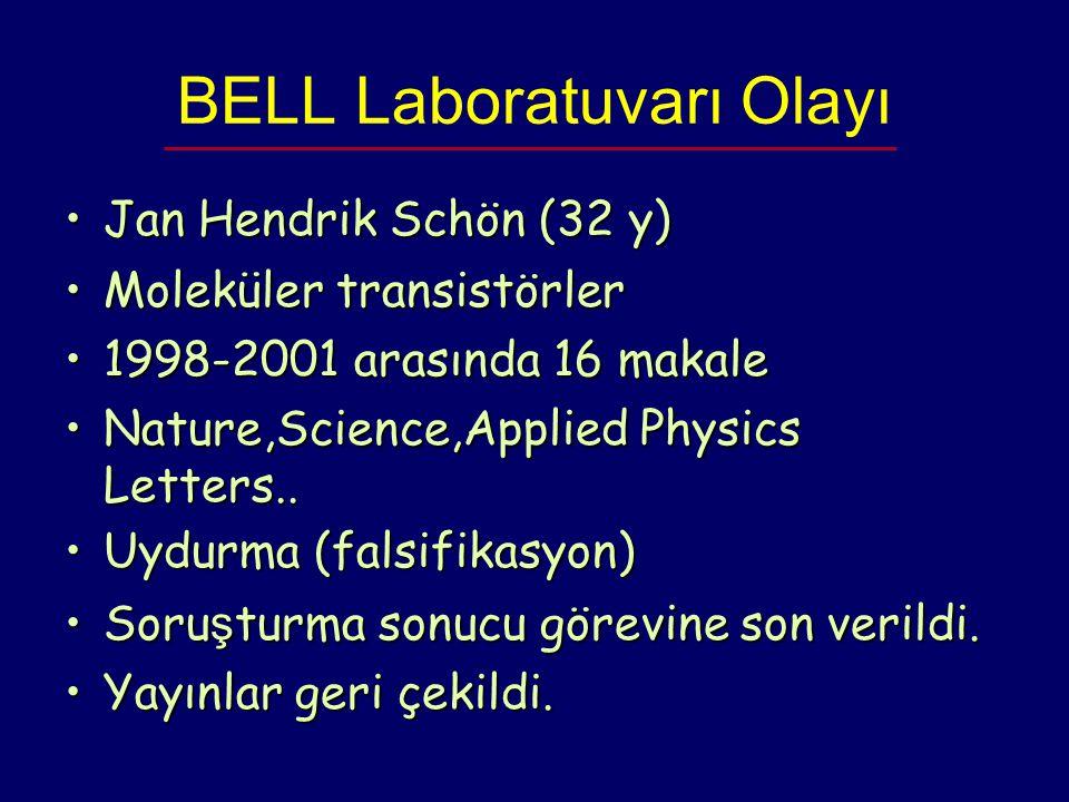 BELL Laboratuvarı Olayı
