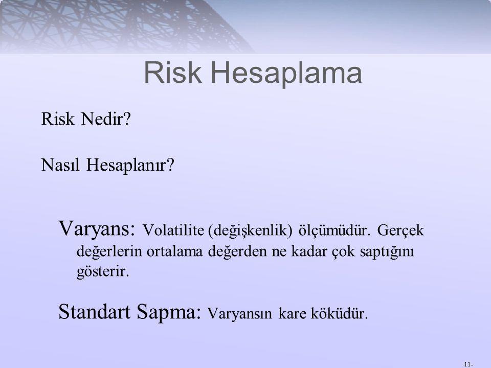 Risk Hesaplama Risk Nedir Nasıl Hesaplanır