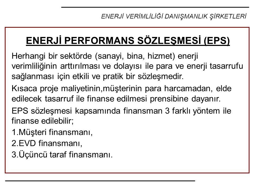 ENERJİ PERFORMANS SÖZLEŞMESİ (EPS)