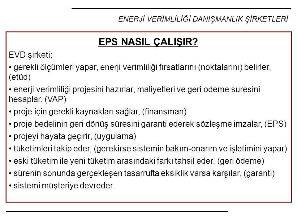 EPS NASIL ÇALIŞIR EVD şirketi;