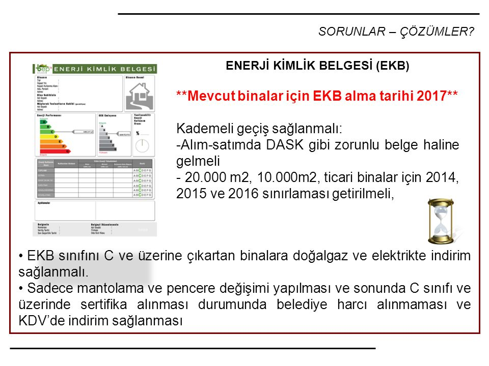 ENERJİ KİMLİK BELGESİ (EKB)