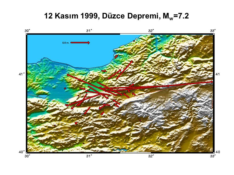 12 Kasım 1999, Düzce Depremi, Mw=7.2