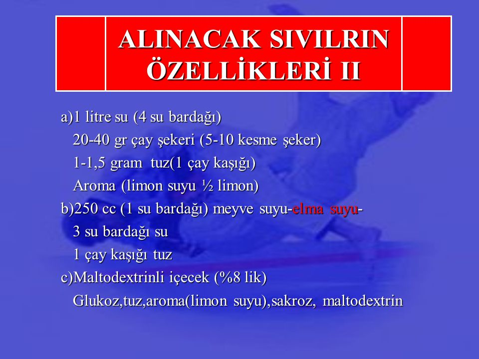 ALINACAK SIVILRIN ÖZELLİKLERİ II