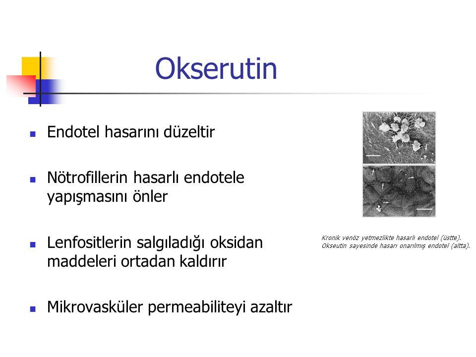 Okserutin Endotel hasarını düzeltir